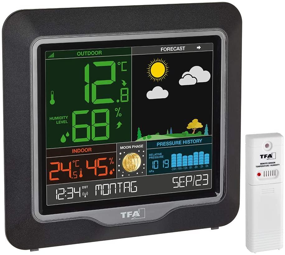 Estacion meteorologica para casa TFA dostmann